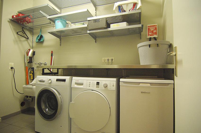Berging - wasplaats