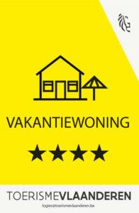 vakantiewoning-erkenningsschild_4-sterren